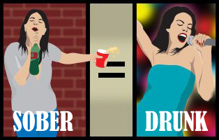 drunk picture, drunkvision